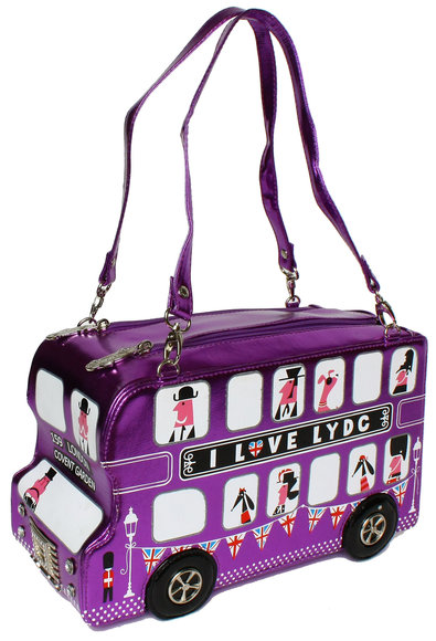 LYDC London bus purple