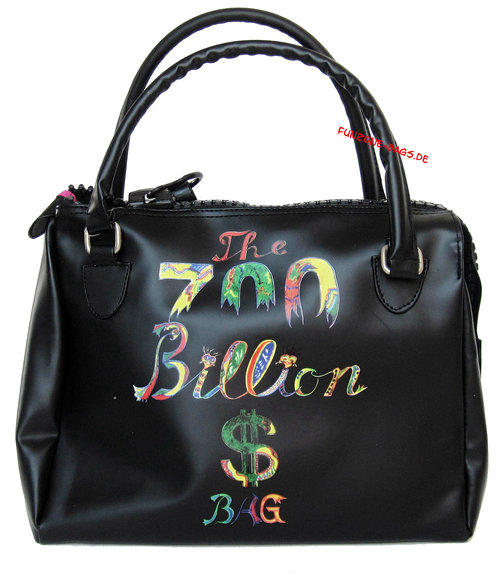Frankie's Garage<br>700 Billion $ Bags<BR>Wash bag to go, schwarz