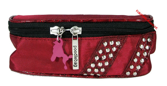 Poodlebag Cosmetic Small Red