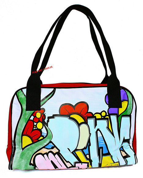 Poodlebag young art graffity Love small