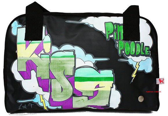 Poodlebag young art graffity<br>Kiss small
