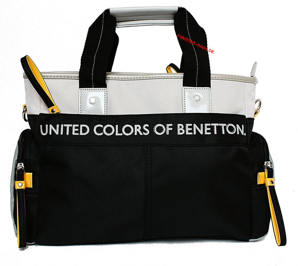 Benetton Kenny kleiner Shopper black combo
