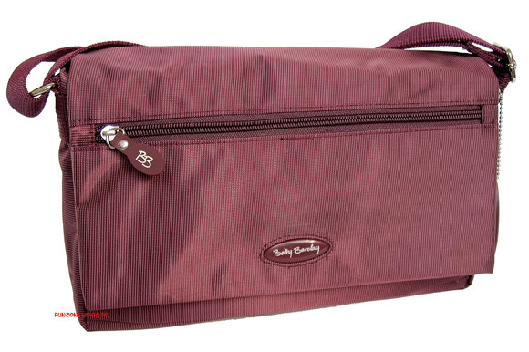 Betty Barclay Flap Bag<br> berry