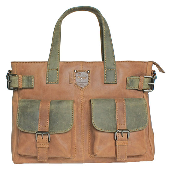 Landleder Citybag<br> Serie old Post